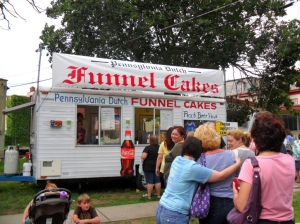 Celtic Festival Bristol PA,Funnel Cake Stand