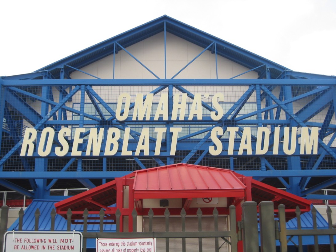 Rosenblatt Stadium original home of the college world series