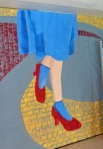 mural ruby red slippers