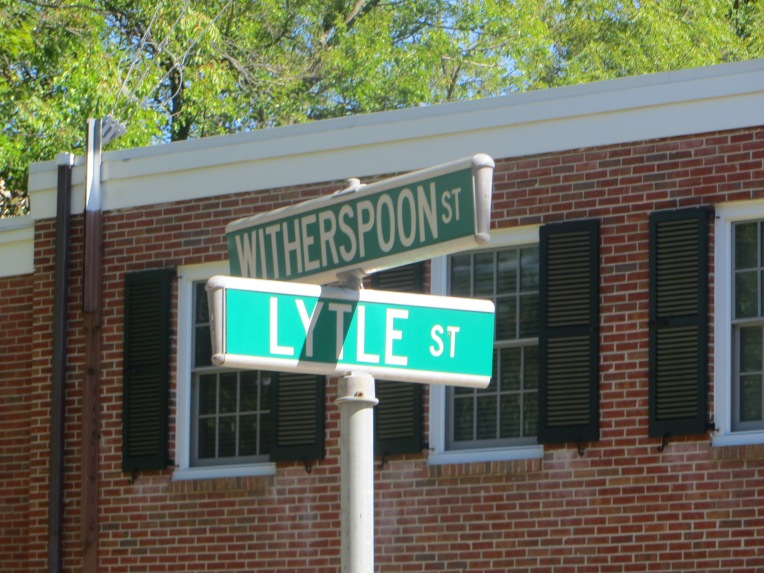 Witherspoon St and Lytle St - Princeton, New Jersey