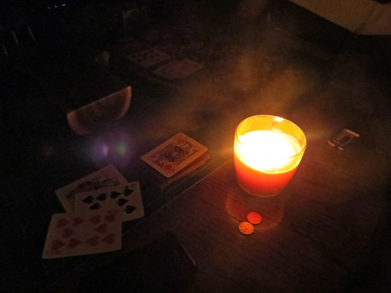 cribbage by candlelight