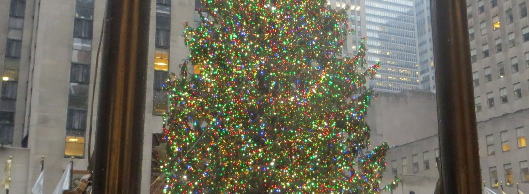 Christmas Tree In Rockerfeller Plaza