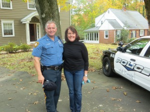 Star and Costar - Beth and Police Officer