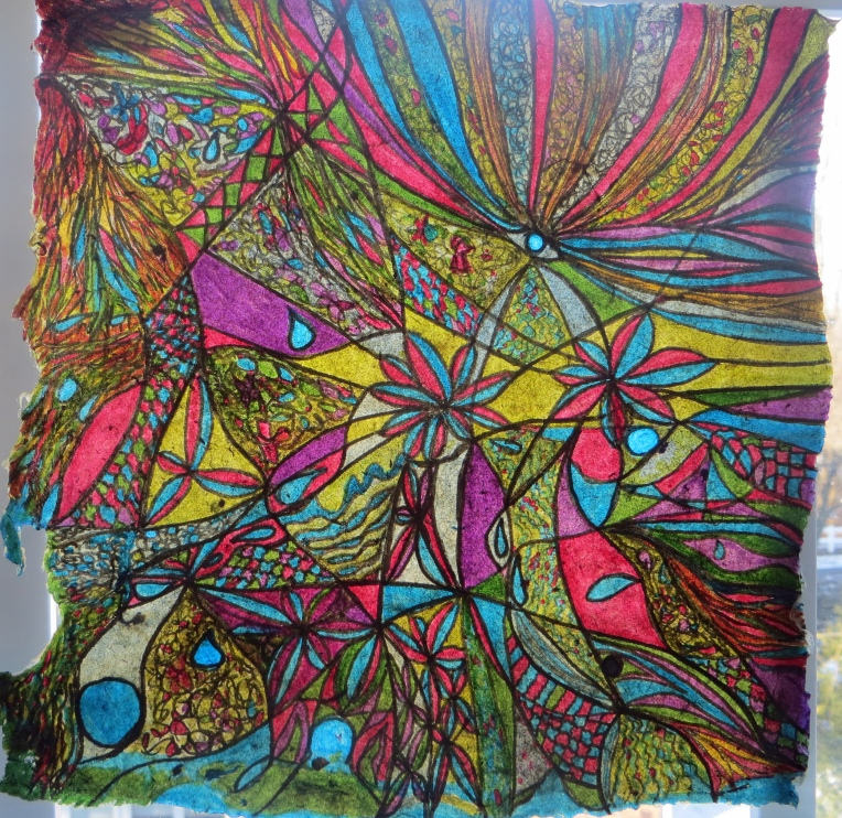 """""""abstract ink drawing_under the sea"""""""
