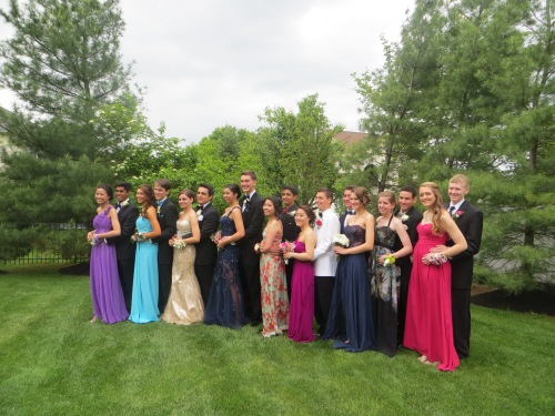 Prom Group Picture Taking