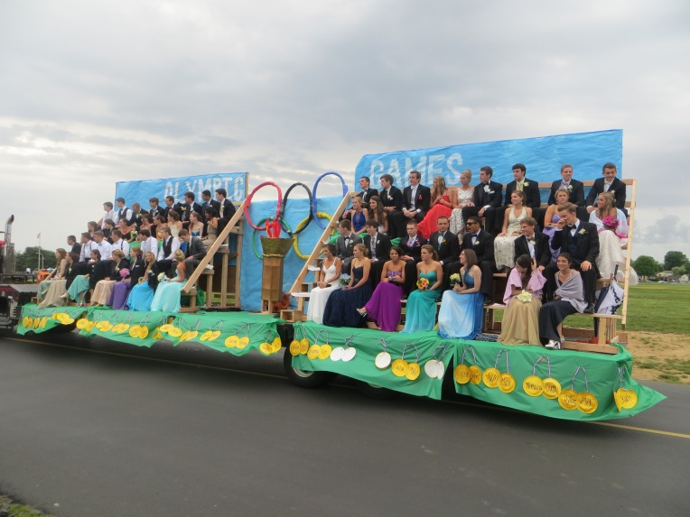 Olympics Float Pennsbury Prom