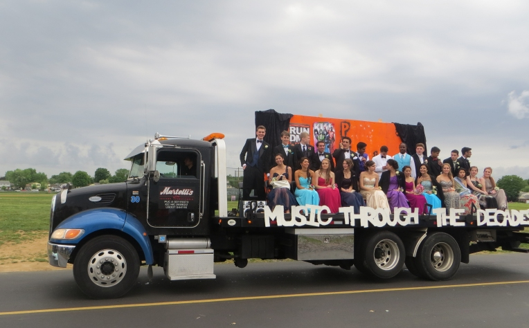 Music Through the Decades Pennsbury Prom Float