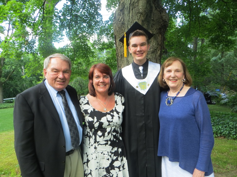 Family Picture on Graduation day