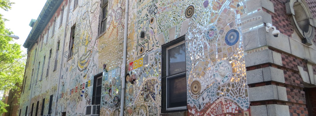 Philadelphia Magic Garden outside wall