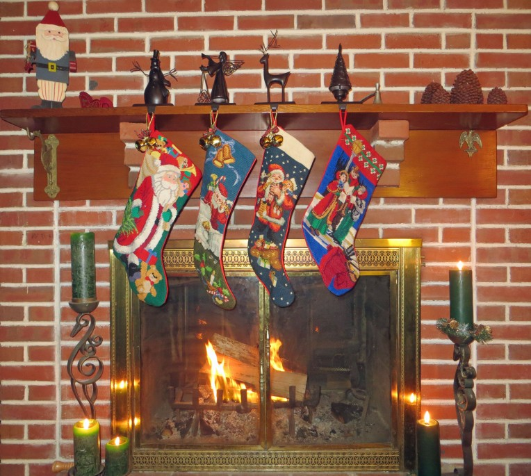 the stockings are hung