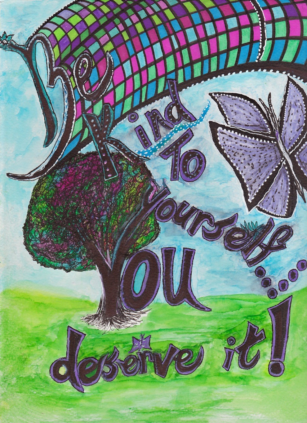 Be Kind to Yourself by Beth Browning