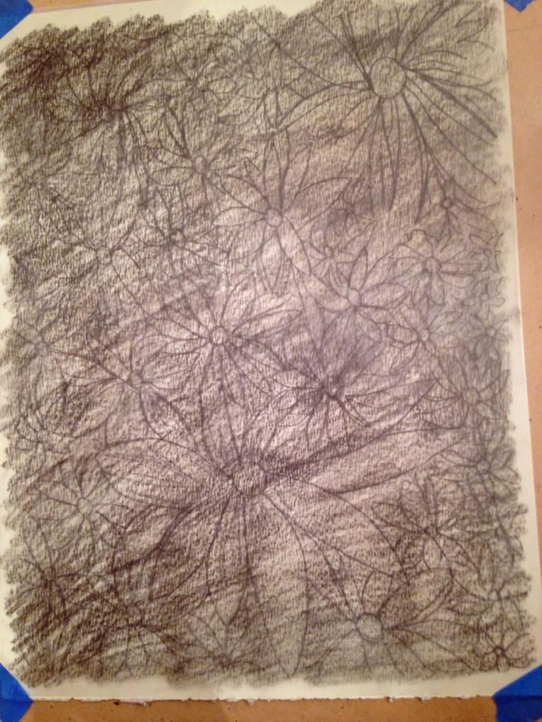 Transferring the Graphite_flower garden_3