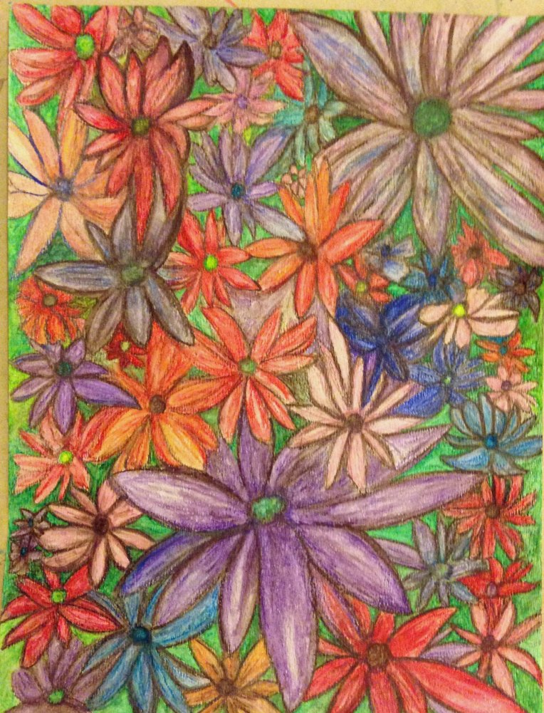 Water Color Pencil_Flower Garden_Final