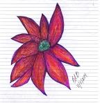 happy flower_new ink pens
