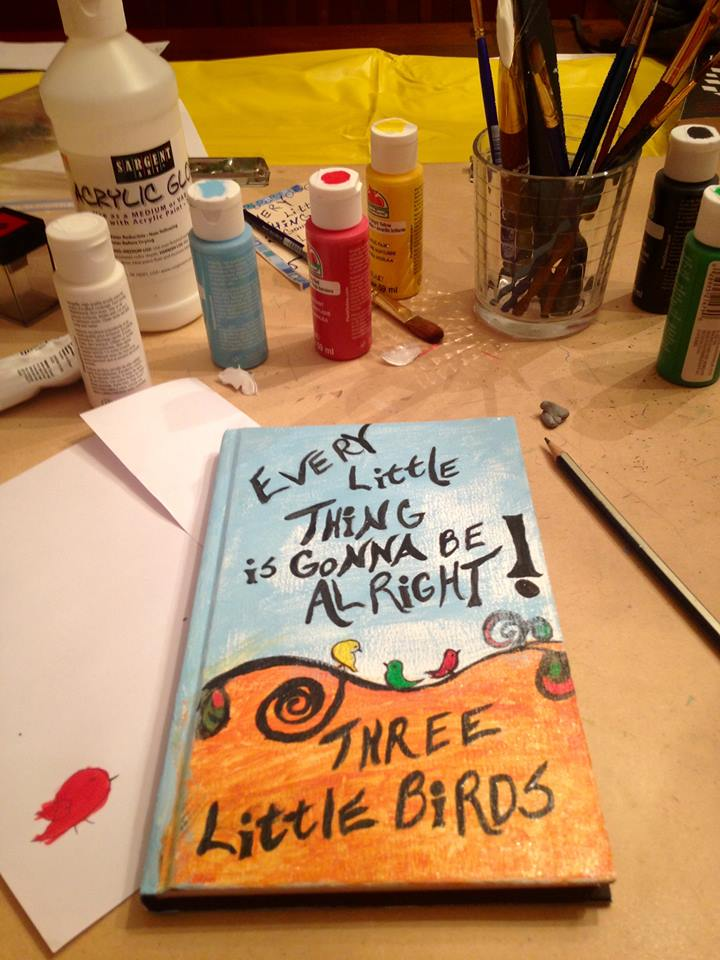 2_3 Little Birds art Journal cover_in color_final