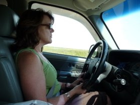 Beth driving to Pennsylvania from Nebraska